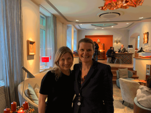 Healthy Anywhere - Leigh and Bettina, Hotel Auersperg