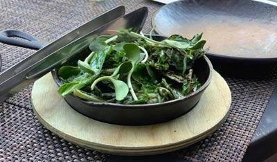 healthy greens help calm nervous system and fight stress