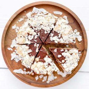 delicious organic vegan gluten-free chocolate pie in Denver / Boulder, CO