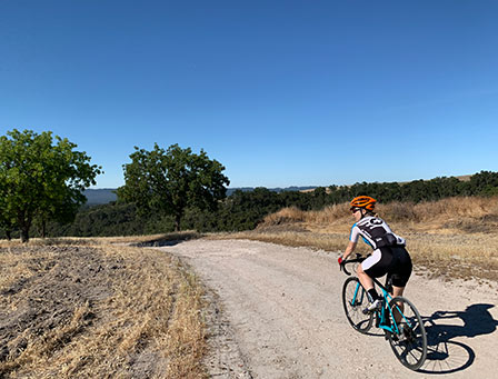 Leigh Balkom Chief Enthusiast Healthy Anywhere gravel cycling
